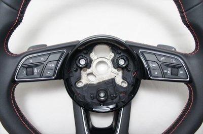 画像2: Audi 純正 S4(8W/B9/F4) / S5(F5) フラットボトムステアリング