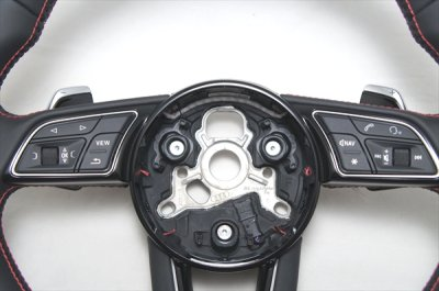 画像1: Audi 純正 S4(8W/B9/F4) / S5(F5) フラットボトムステアリング