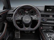画像9: Audi 純正 RS5 (F5) / RS4 Avant (8W/B9/F4) フラットボトム ステアリングホイール (アルカンターラ) (9)