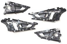 画像1: Audi 純正 RS7 Sportback(4G) ドアインナーハンドルセット (1)