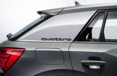 画像3: Audi 純正 クワトロ quattro ステッカー (S) セット (3)
