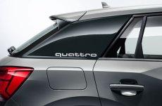 画像4: Audi 純正 クワトロ quattro ステッカー (S) セット (4)