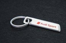 画像1: Audi 純正 キーリング  (アウディ スポーツ -Audi Sport- ) (1)