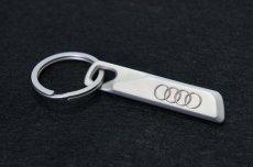 画像1: Audi 純正 キーリング (フォーシルバーリングス -Four Silver Rings-) (1)