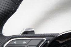 画像3: Audi 純正 New A4(8W)/A5(F5) S line フラットボトム ステアリングホイール (3)