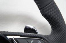 画像4: Audi 純正 A4(8W/B9/F4) / A5(F5) S line フラットボトム ステアリングホイール (4)