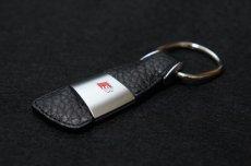 画像1: Audi 純正 アクセサリー レザーキーリング (S) (1)