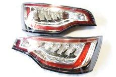画像1: Audi 純正 Q7(4L) LED クリア テールランプセット (1)