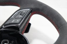画像6: Audi 純正 RS5 (F5) / RS4 Avant (8W/B9/F4) フラットボトム ステアリングホイール (アルカンターラ) (6)