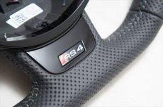 画像3: アウディ 純正 RS4 Avant (8K/B8.5) フラットボトム ステアリング (3)