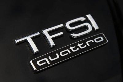 画像1: Audi 純正  TFSI リア エンブレム (S)