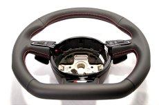 画像6: Audi 純正 S5(8T) / SQ5(8R) フラットボトム ステアリング ホイール  (6)