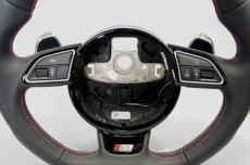 画像5: Audi 純正 S5(8T) / SQ5(8R) フラットボトム ステアリング ホイール  (5)