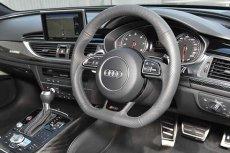 画像4: Audi 純正 RS6 (4G/C7) フラットボトム ステアリング ホイール (4)