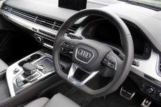 画像2: Audi 純正 S Q7(4M) フラットボトム ステアリング  (2)