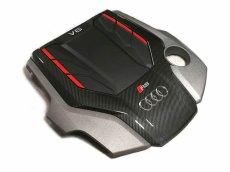 画像2: Audi 純正 RS4(8W) / RS5(F5) カーボン エンジンカバー (2)