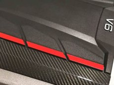 画像4: Audi 純正 RS4(8W) / RS5(F5) カーボン エンジンカバー (4)