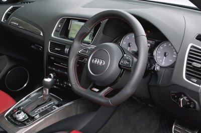 画像1: Audi 純正 S5(8T) / SQ5(8R) フラットボトム ステアリング ホイール