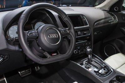 画像2: Audi 純正 S5(8T) / SQ5(8R) フラットボトム ステアリング ホイール