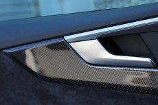 画像5: Audi 純正 A4(8W/B9) / A4 allroad quattro(8W/B9) / A5(F5) デコラティブパネル セット カーボン・ブラックハイグロス(ピアノブラック) (5)