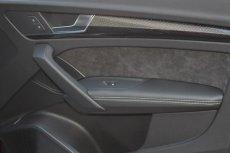 画像1: Audi 純正 Q5/SQ5(FY) レザー ドア アームレスト (1)
