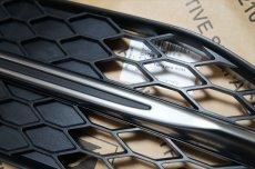 画像3: Audi 純正 S6(4G/C7) エアガイドグリル セット (3)