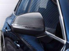 画像1: Audi 純正 Q5/SQ5(FY) カーボン ドアミラーハウジング (1)
