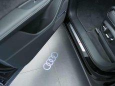 画像5: Audi 純正 LED ドアエントリーライト セット(カーテシランプ)Four Rings / quattro (5)