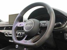 画像13: Audi 純正 New RS5 Coupe (F5) フラットボトム ステアリング (パンチングレザー) (13)