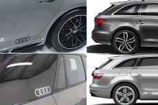 画像5: Audi 純正 フォーリングス FourRings ステッカーセット (5)
