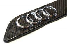 画像4: Audi 純正  RS3 / RSQ3 / TTRS カーボン メーカーズプレート (4)