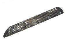 画像1: Audi 純正  RS3 / RSQ3 / TTRS カーボン メーカーズプレート (1)