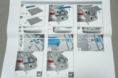 画像8: Audi アウディ 純正 リヤバンパー プロテクト マット (8)