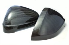 画像2: Audi 純正 A4(8W)/A5(F5) カーボン ドアミラーハウジング (2)