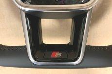 画像5: Audi 純正 A6(4A/F2/C8) / A7(4K/F2/C8) S-line S6 S7 フラットボトムステアリングホイール  (5)
