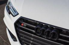 画像5: Audi 純正 グロス ブラック FourRings フロント グリル エンブレム [1]   A1(GB),A3/S3/RS3(8V),A4/S4/RS4(8K/B8/B8.5/8W/B9/F4),A5/S5/RS5(8T,F5)A6(4A/F2/C8),A7(4K/F2/C8)  (5)