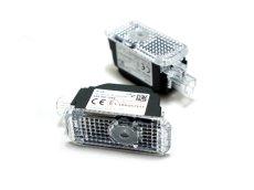 画像2:  Audi 純正 LED ドアエントリーライト セット(カーテシランプ)FourRingss + Gecko (2)