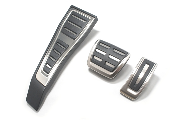 画像1: Audi 純正 A4(8W) /A5(F5) S4/S5 B9 S-line ペダル・フットレスト セット (1)