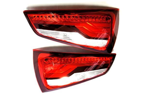 画像1: Audi 純正 S1/A1/A1 Sportback(8X) LED テールランプセット (1)