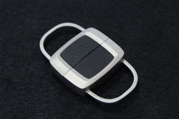 画像1: Audi 純正 キーリング (セパレータブル) (1)