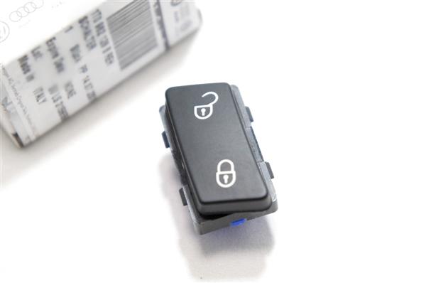 画像1: VW 純正 トゥーラン Touran ドアロック/アンロック スイッチ (1)