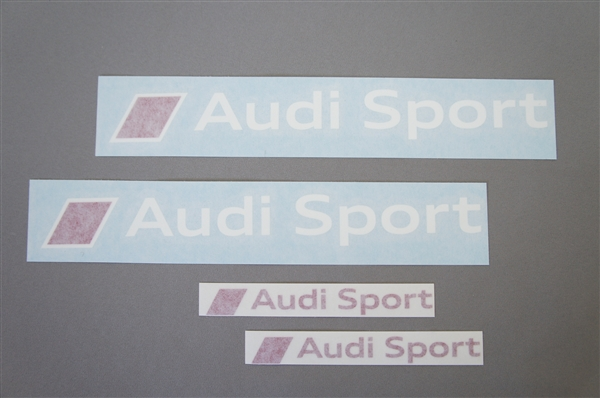 画像1: Audi 純正 Audi Sport ステッカーセット (1)