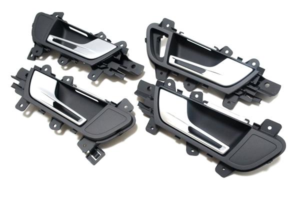 画像1: Audi 純正 RS4 Avant(8K/B8/B8.5) ドアインナーハンドル セット (1)