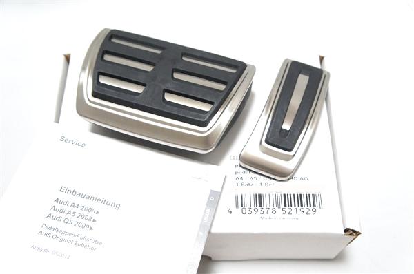 画像1: Audi 純正 S / RSモデル ペダル セット - A4(8K)/A5(8T)/Q5(8R) - (1)