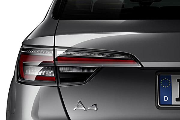 画像1: アウディ純正 A4 Avant/S4 Avant/A4 allroad quattro(8W/B9) クリア LED テールランプセット (1)