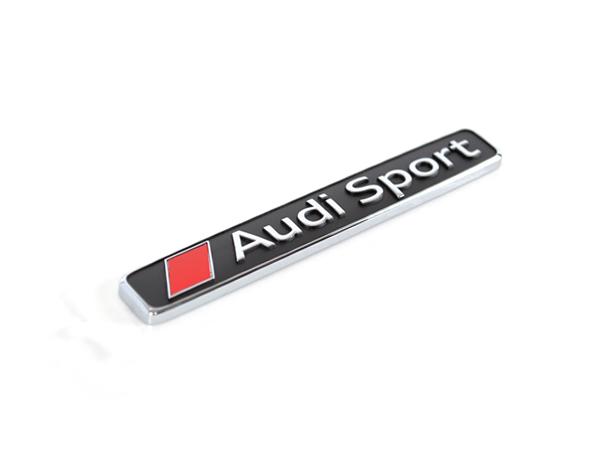 画像1: アウディ 純正 Audi Sport エンブレム  (1)