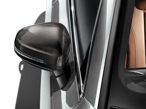 画像1: Audi 純正 A4(8W)/A5(F5) カーボン ドアミラーハウジング (1)