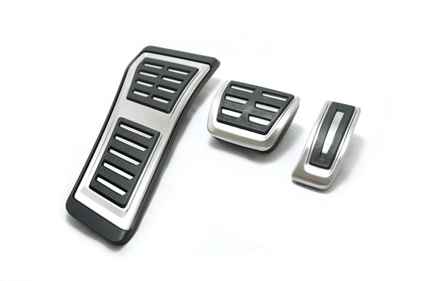 画像1: Audi 純正 Q5(FY) S line SQ5 ペダルカバー・フットレスト セット (1)