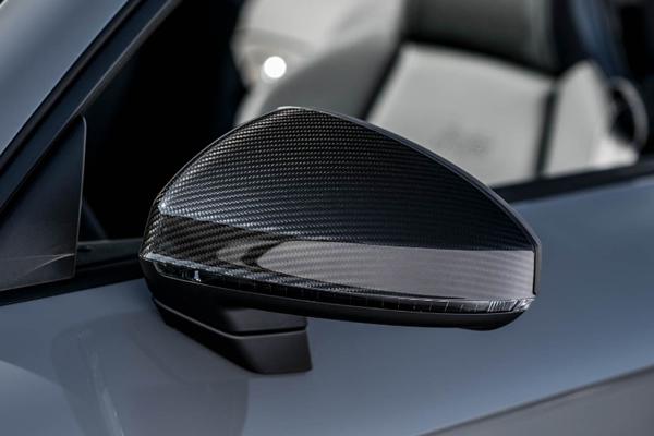 画像1: Audi AG 純正 TT/TTS/TT RS(FV) カーボン ドアミラーハウジング (ミラーカバー) (1)