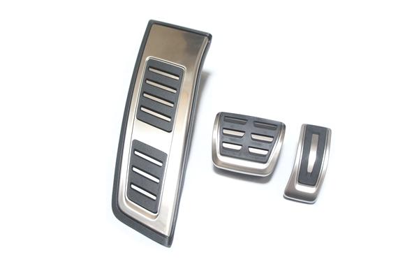 画像1: Audi 純正 A6(4A/C8) / A7 Sportback (4K/C8) S-line  ペダル・フットレスト セット (1)